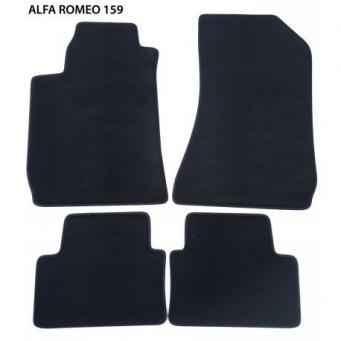 Textilní autokoberce na ALfa Romeo 159 (2005-2011)