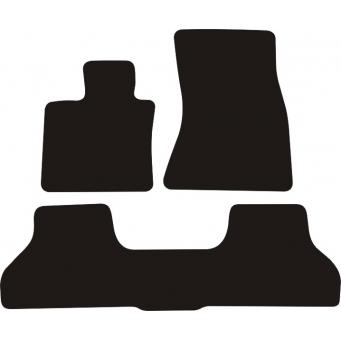 Textilní autokoberce na BMW X6 /2008-2014/