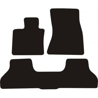 Textilní autokoberce na BMW X6 F16 /2014-/
