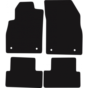 Textilní autokoberce na Chevrolet Cruze /2008-2016/