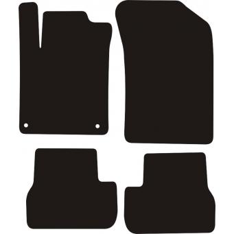 Textilní autokoberce na Citroen C3 II /2009-2016/