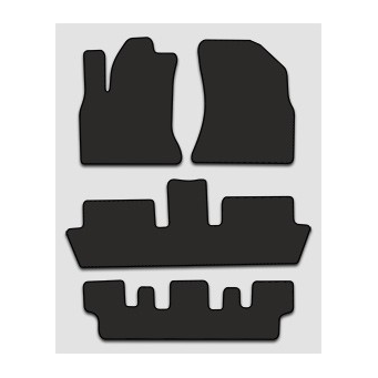 Textilní autokoberce na Citroen C4 Picasso /2006-2013/