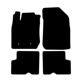 Textilní autokoberce na Dacia Duster /2010-2018/
