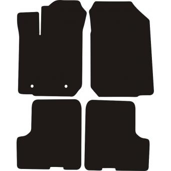 Textilní autokoberce na Dacia Sandero /2012-/