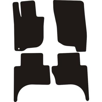 Textilní autokoberce na Fiat Fullback /2016-/