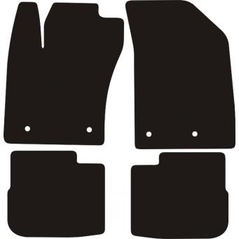 Textilní autokoberce na Fiat Tipo hatchback,kombi /2016-/