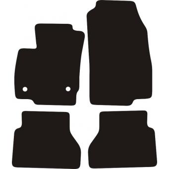 Textilní autokoberce na Ford B-MAX /2012-/