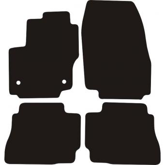 Textilní autokoberce na Ford Mondeo IV /2012-2014/
