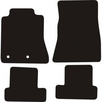 Textilní autokoberce na Ford Mustang /2014-/
