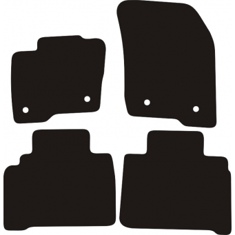 Textilní autokoberce na Ford S-MAX II /2015-/