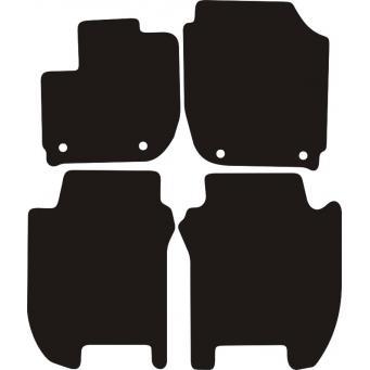 Textilní autokoberce na Honda Jazz /2015-/