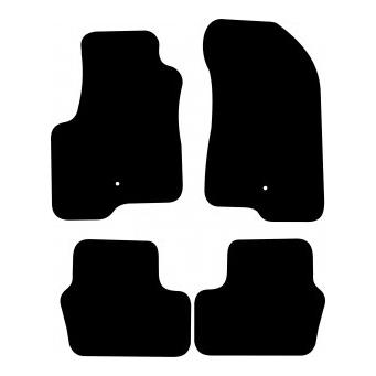 Textilní autokoberce na Jeep Compass /2007-/