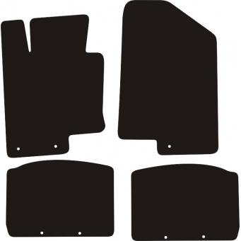 Textilní autokoberce na Kia Optima /2010-2015/