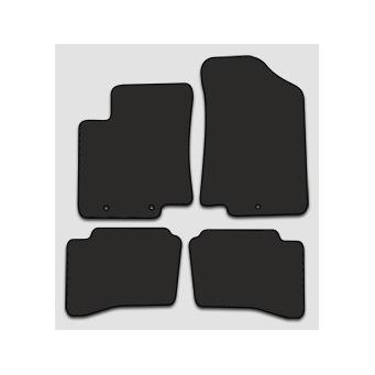 Textilní autokoberce na Kia Rio /2010-2016/