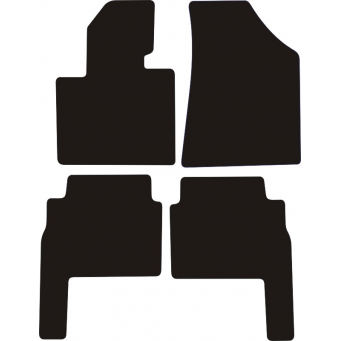 Textilní autokoberce na Kia Sorento /2009-2015/