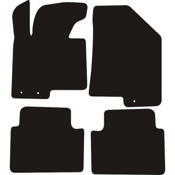 Textilní autokoberce na Kia Sportage /2010-2016/
