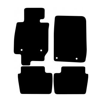 Textilní autokoberce na Mazda CX-3 /2015-/