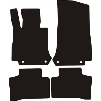 Textilní autokoberce na Mercedes GLE Coupe /2015-/