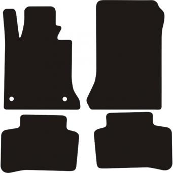 Textilní autokoberce na Mercedes GLK X204 /2008-2014/