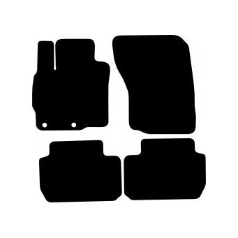 Textilní autokoberce na Mitsubishi Outlander III /2013-/