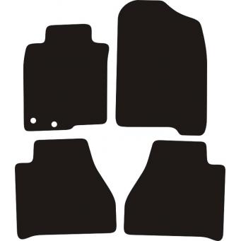 Textilní autokoberce na Nissan Navara IV /2016-/
