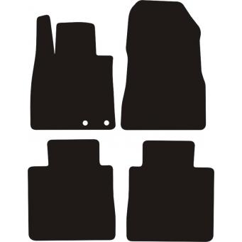 Textilní autokoberce na Nissan Note /2013-/