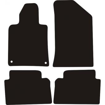 Textilní autokoberce na Peugeot 508 /2011-2018/