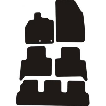 Textilní autokoberce na Renault Scenic III /2009-2013/