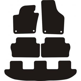 Textilní autokoberce na Seat Alhambra /2010-2018/