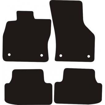 Textilní autokoberce na Seat Leon III /2012-/
