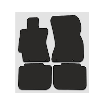Textilní autokoberce na Subaru Legacy V /2009-2014/