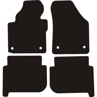 Textilní autokoberce na Volkswagen Touran /2003-2015/