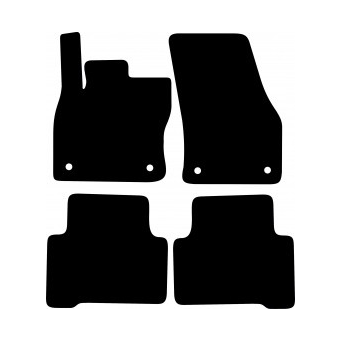 Textilní autokoberce na Volkswagen Touran /2015-/
