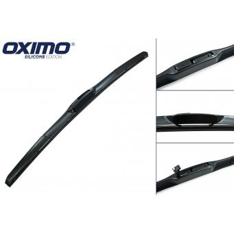 Hybridní stěrače Oximo na Kia Rio Sedan