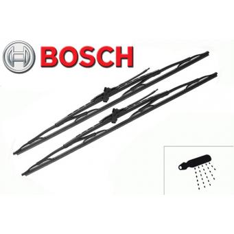 Klasické stěrače Bosch s ostřikovačem na Iveco Daily