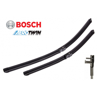 Stěrače Bosch na Mercedes Třída C T-Model W204 (12.2008-04.2013) 600mm+600mm