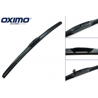 Hybridní stěrače Oximo na Nissan Leaf