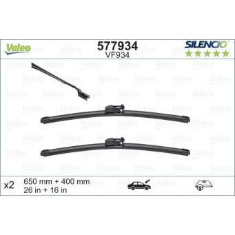 Stěrače Valeo na Subaru XV