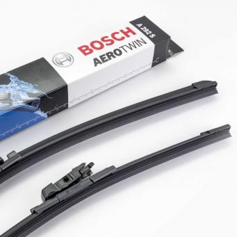 Stěrače Bosch na Ford Fiesta VII hatchback (07.2008-11.2012) 650mm+380mm